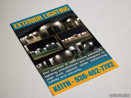 Postcard Designed and Printed for Donaldson Lighting