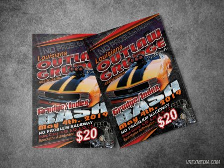 Louisiana Outlaw Grudge Flyer