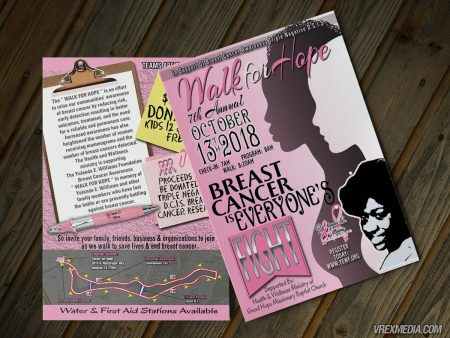 Postcard Design - Yolland E Williams Foundation 7th