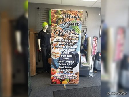 Catering by Missy retractable banner