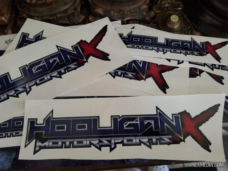 Hooligan X Motorsports Sickers
