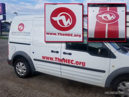 Vehicle Decals for The HEC
