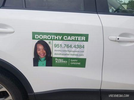 Dorothy Carter Vehicle Magnets