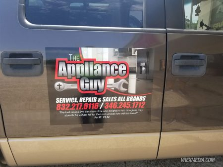 The Appliance Guy Vehicle Magnets