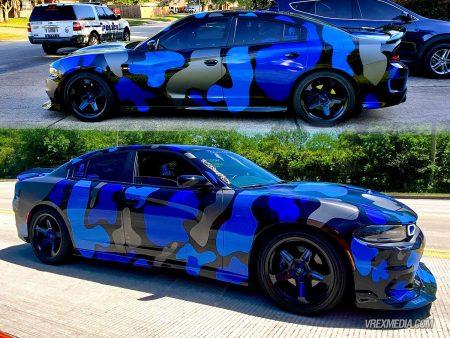 Blue Guardian Camo Wrap