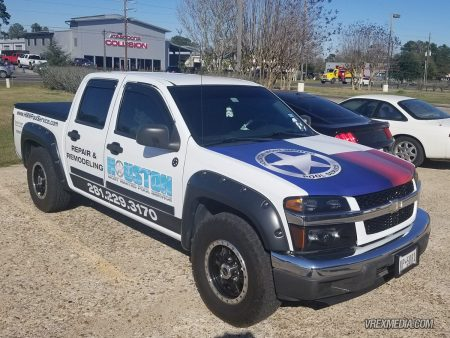 Vehicle Wraps for Houston Most Wanted Pool